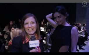 Al iniciar la entrevista con la actriz mexicana Ana de la Reguera